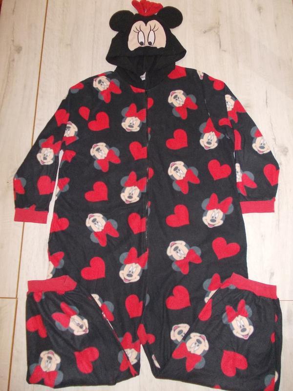 Пижама слип кигуруми комбинезон минни маус р. xl рост 165-175см1 ... 5639729e010ce