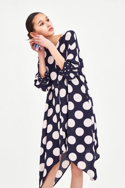 fabfa128c8f6dfa Платье в горошек xs zara ZARA, цена - 900 грн, #15957809, купить по ...