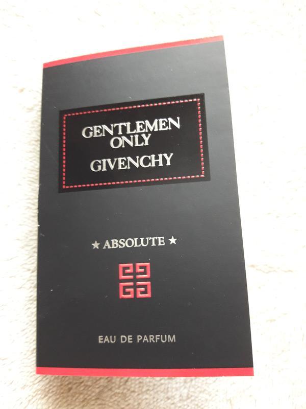 пробник Givenchy Gentlemen Only Absolute Eau De Parfum Givenchy
