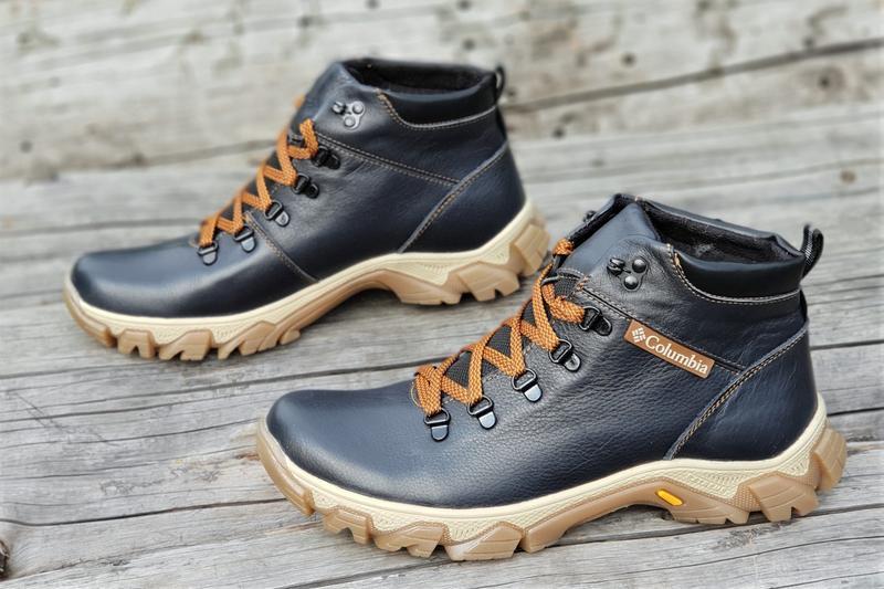 Ботинки мужские зимние кожаные 40-45р Columbia, цена - 1245 грн ... e4dfb27d609