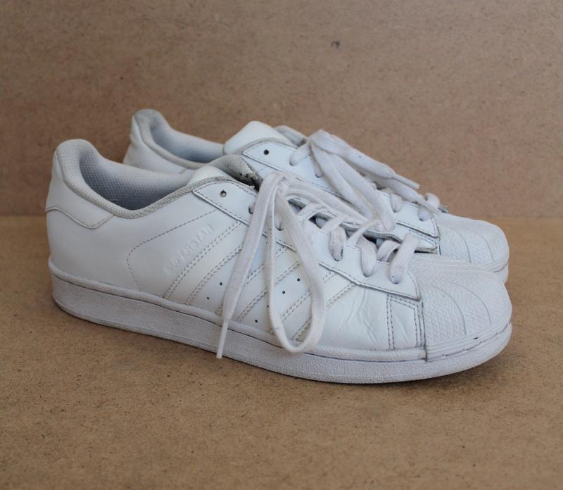 f9932840023c Adidas super star мужские кроссовки белые кожаные Adidas, цена - 660 ...