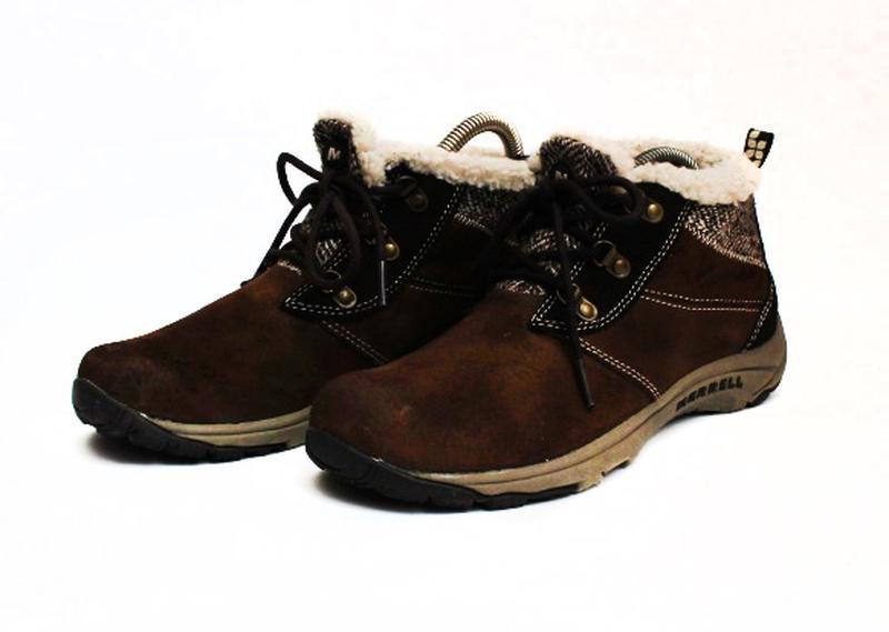Ботинки merrell. стелька 24 см Merrell 4e426cec35dd5
