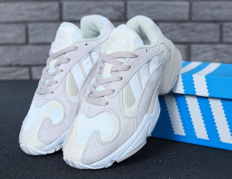 36 37 38 39 40 нежные женские кроссовки adidas yung 1 white grey белые1 ... 2ff0ecceb647b