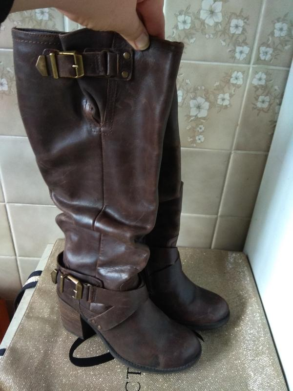 Шикарные кожаные сапоги 25см италия1 ... 8878076d105c6