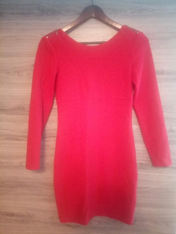 c6198d3a49d Красное маленькое платье zara ZARA