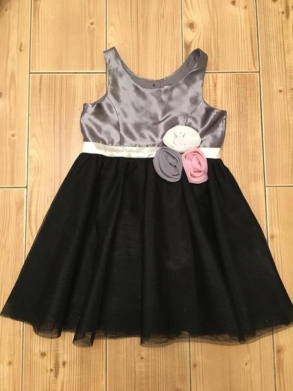 Нарядное платье h m - размер 2-3 года 402f283b32153