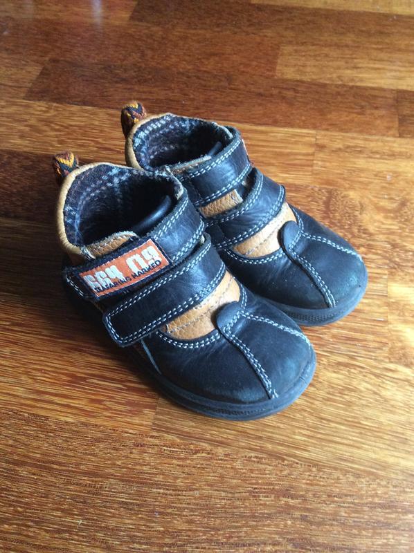 1cdc2ef10 Детские кожаные демисезонные ботинки floare (молдова) для мальчика1 ...