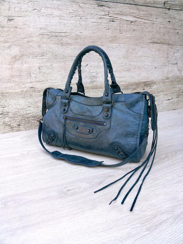 110d07d955 Balenciaga motorcycle city bag - 115748 кожаная сумка Balenciaga ...