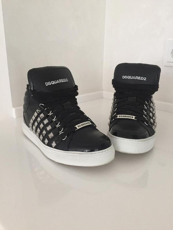 Кожаные кроссовки dsquared2. оригинал. Dsquared, цена - 6000 грн ... cb423ee6fa9