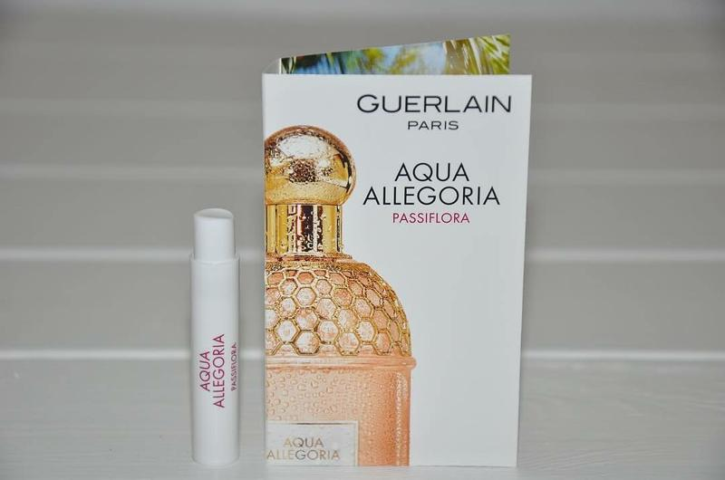Guerlain Aqua Allegoria Passiflora пробник оригинал Guerlain цена