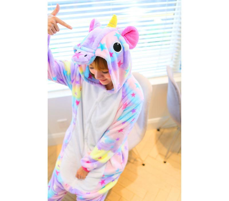 9af795560cf2 ... Скидка пижама женская домашняя одежды кигуруми звездный единорог3 фото