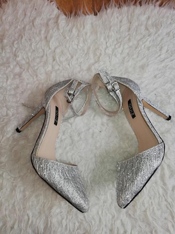 abc52a4b6 Лодочки женские свадебные лодочки туфли женские на каблуке серебряные туфли  лодочки1 фото ...