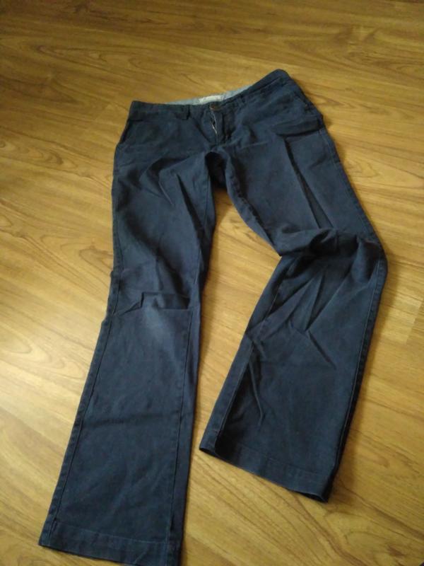 Темно сині котонові штани Fat Face 959e33f5a825f