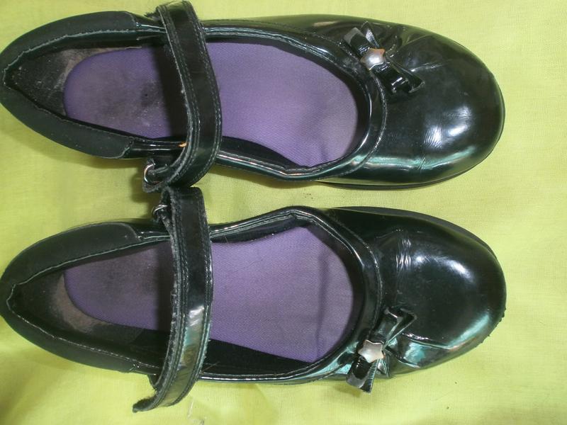 Туфли в школу кожа лак clarks Clarks 474a2fc1b169e