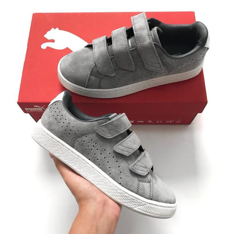 26e4db6a6ea2 36 37 38 39 40 41 крутые женские кроссовки кеды puma suede basket grey серые  на ...