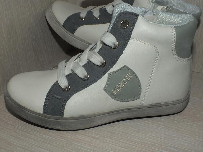 Легкие стильные кеды хайтопы белый серый energy 28, 29, 30, цена ... 29507218a83