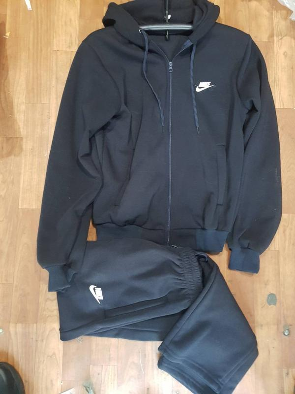 Последний! теплый мужской спортивный костюм трикотаж трехнитка на флисе1 ... 4678af5e009