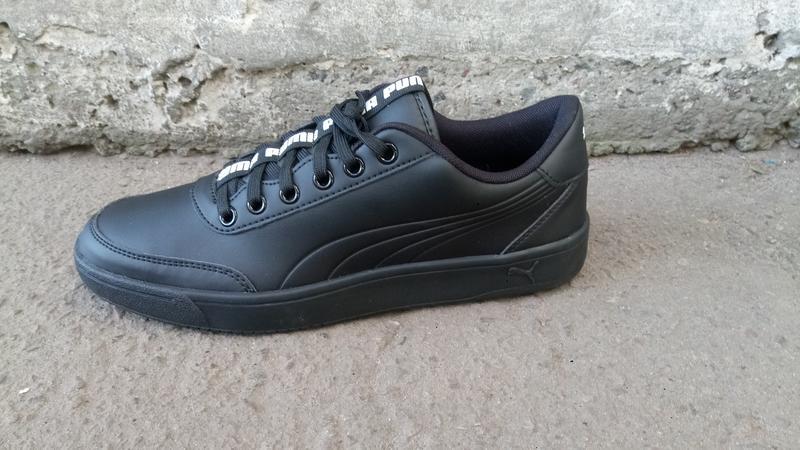 Кеды puma men s court breaker bold black sneakers (41 26.5 см, 45  ... 4dfdc1c25d8