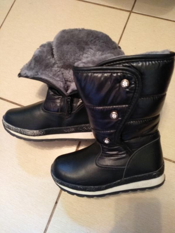 Зимові чобітки для дівчинки1 ... 6d765f37faa86