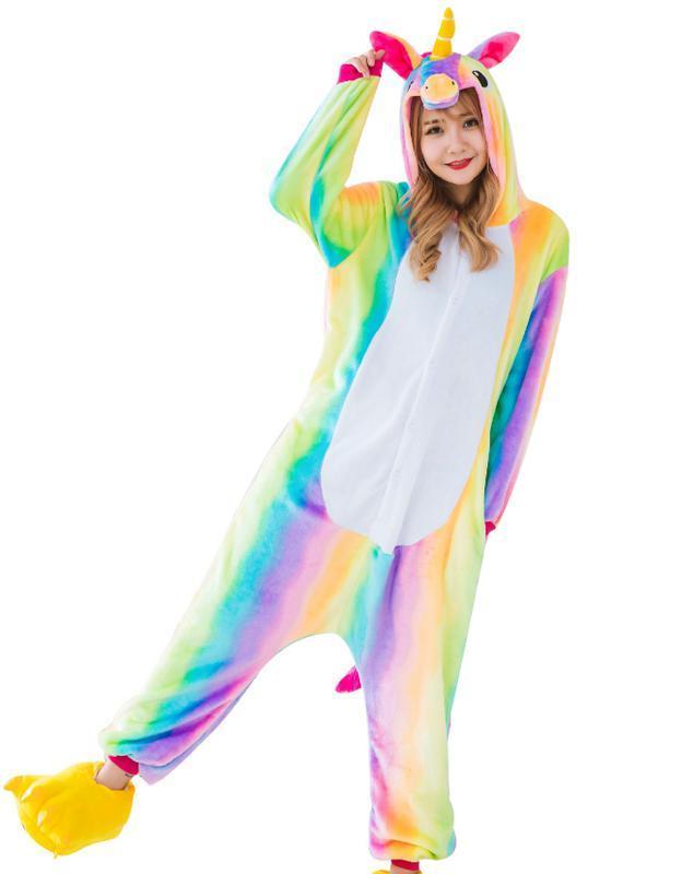 Пижама кигуруми радужный единорог1 ... c4621d6fe30d9