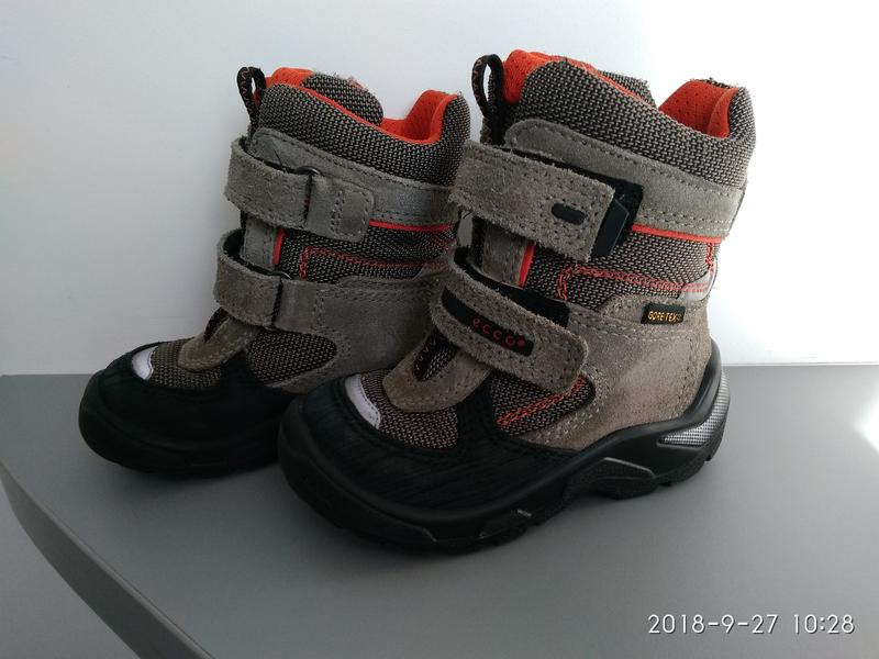 Черевики дитячі ecco snowride 23 розмір для хлопчика Ecco 173471bab6a1d