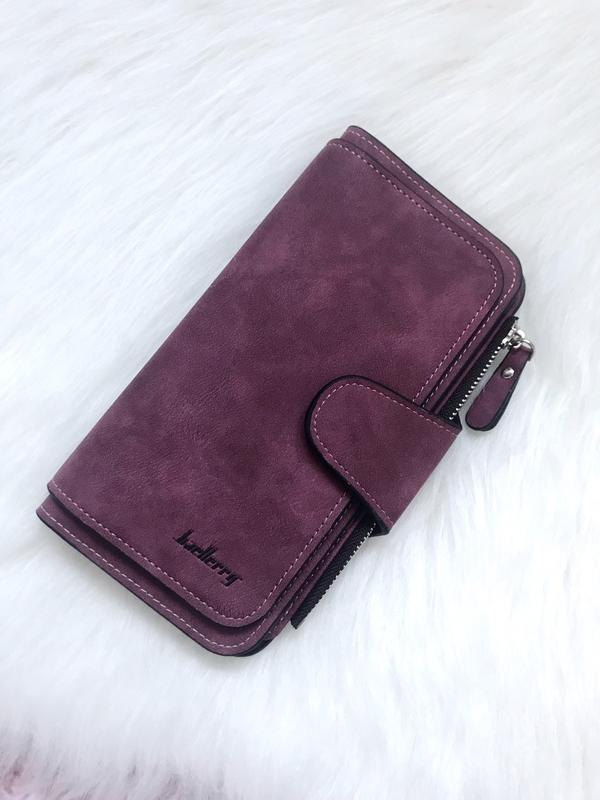 b59aa7f664df Стильный клатч, кошелек baellerry forever. женское портмоне, гаманець.  бордовый цвет1 фото ...