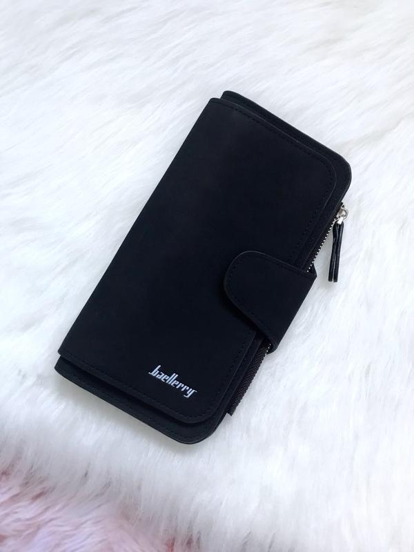 2a6c6038bb44 Стильный клатч, кошелек baellerry forever. женское портмоне, гаманець.  черный цвет1 фото ...