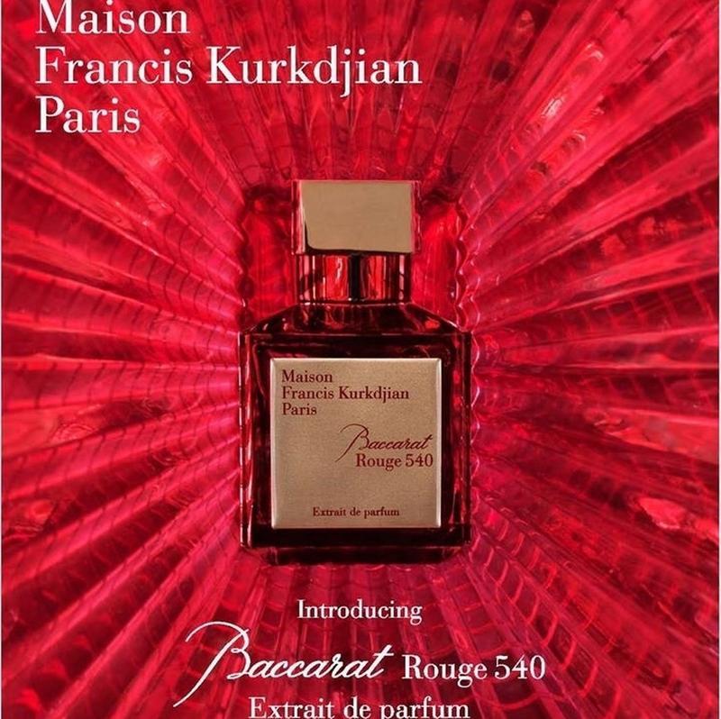 Maison Francis Kurkdjian Baccarat Rouge 540 Extrait De Parfum цена