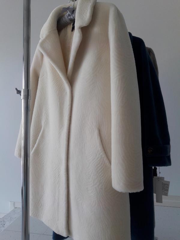 Супер шуба натуральная овчина зима woolmark кашемир шерсть 100%1 ... 41ea6272544ca