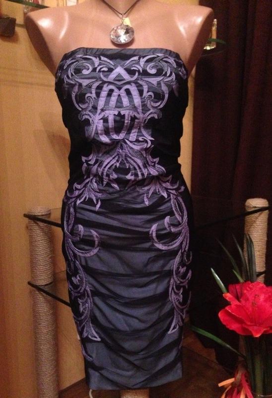 Оригинальное платье вобтяжку seam вышивка горизонтальными складками без бретелей Seam, цена - 650 грн, #1874134, купить по доступной цене | Украина - Шафа