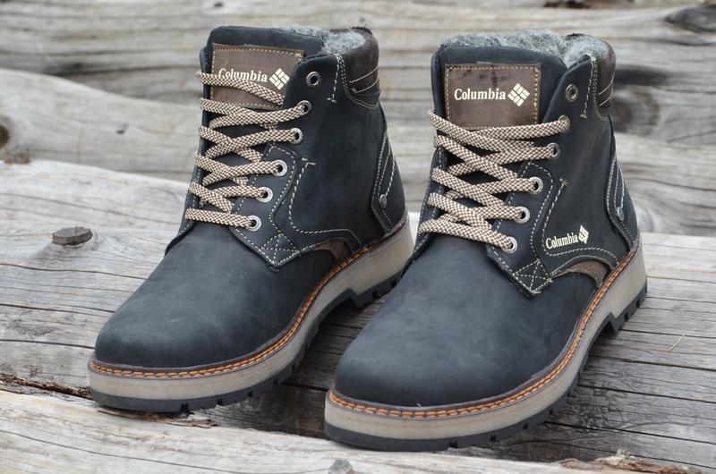 574c891838f5 Ботинки зимние мужские кожаные 40-45р Columbia, цена - 1295 грн ...