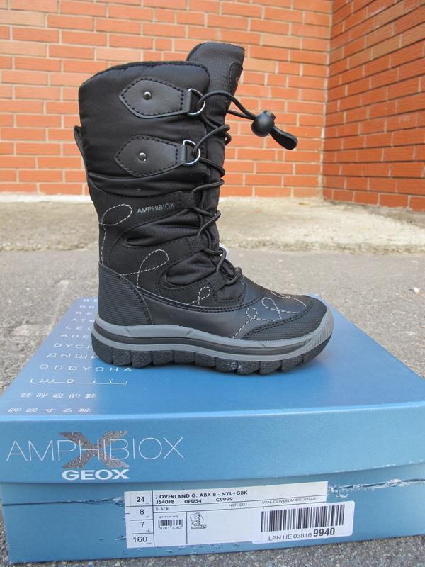 aa12b05e2 Новые зимние сапоги geox amphibiox. оригинал Geox, цена - 1600 грн ...