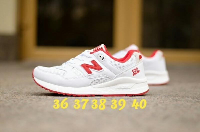 factory price 2b369 5f5d2 36 37 38 39 40 крутые женские кроссовки new balance 530 encap white grey  red серые (New Balance) за 1399 грн.
