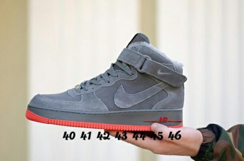 40 41 42 43 44 45 46 мужские кроссовки на зиму ботинки nike air force winter  ... 1bf422ee33f8f
