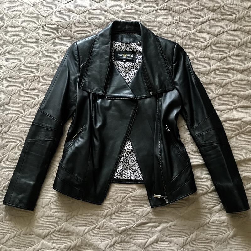Натуральна шкіряна куртка м кожаная куртка косуха1 ... 54a39f13819d7