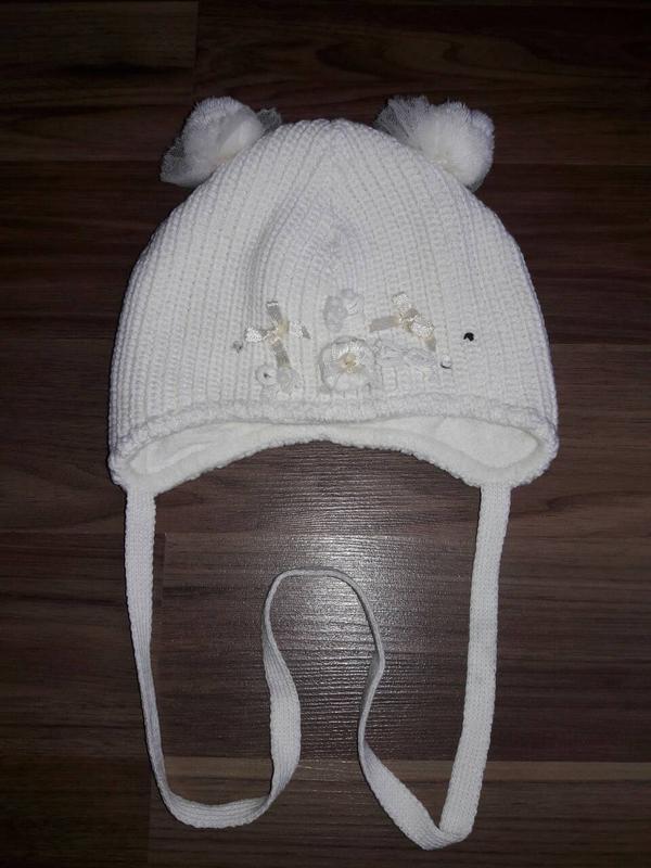 Фирменная теплая деми модная шапка для девочки barbaras 44-46 размера1 ... 065c6c0404f52