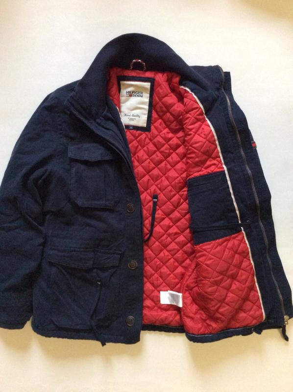 Мужская утеплённая куртка tommy hilfiger оригинал размер xl Tommy ... 60c8c2c02956a