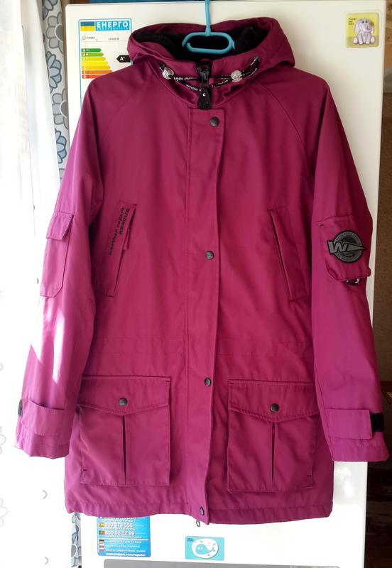 Frisk Парка, куртка демисезон weather report sweden марсала 38, m,l RC-98