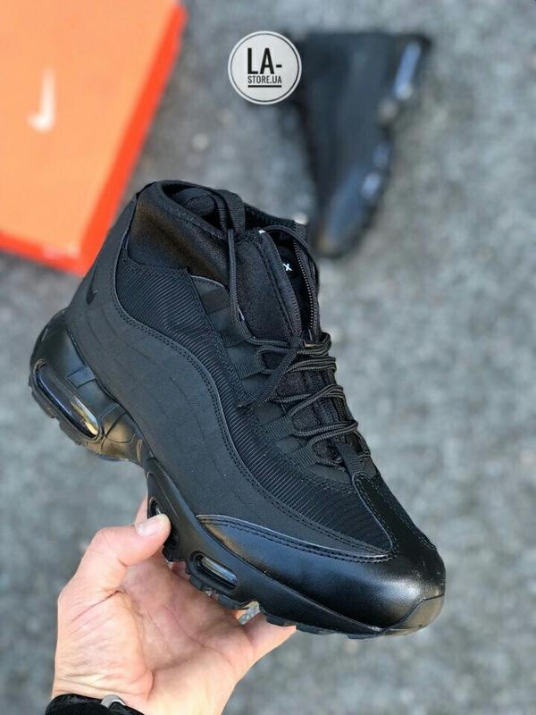 36b68cce Новинка! шикарные мужские зимние кроссовки nike air max 95 sneakerboot1  фото ...