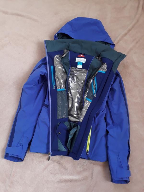 fd063eead8db Люксовая зимняя горнолыжная куртка columbia prima blur omni-tech omni-heat1  ...