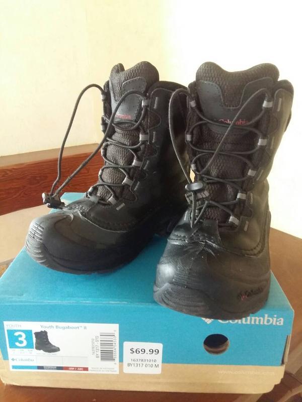 e2f8d327b006 Зимние ботинки columbia youth bugaboot iii, разм. us3 Columbia, цена ...