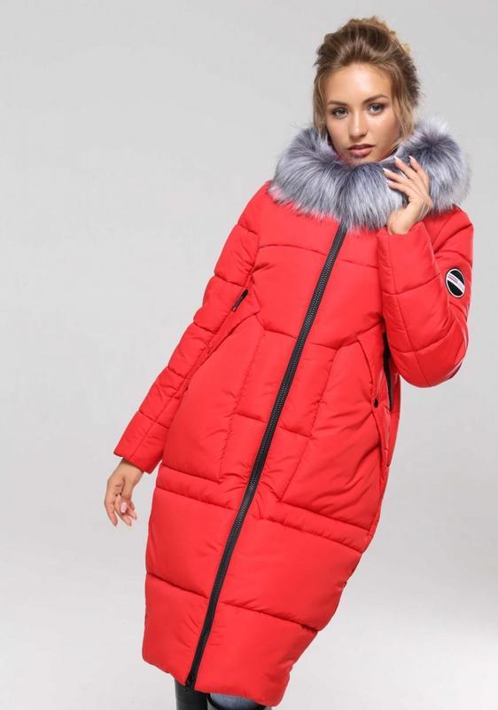 a2b147fa0b7 Зимнее женское пальто с капюшоном дамиана нью вери (nui very)1 фото ...
