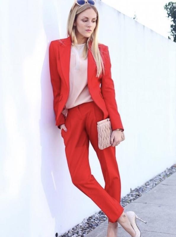 e7c68a17962 Стильный деловой костюм двойка (брюки+пиджак)1 фото ...