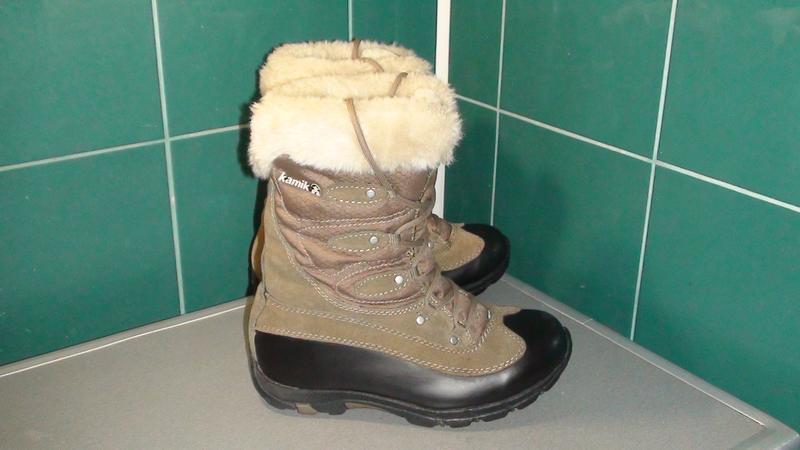 Kamik waterproof - зимові шкіряні чобітки. р- 37 (23.5см) Kamik ... 3ceeab4fb0b5f