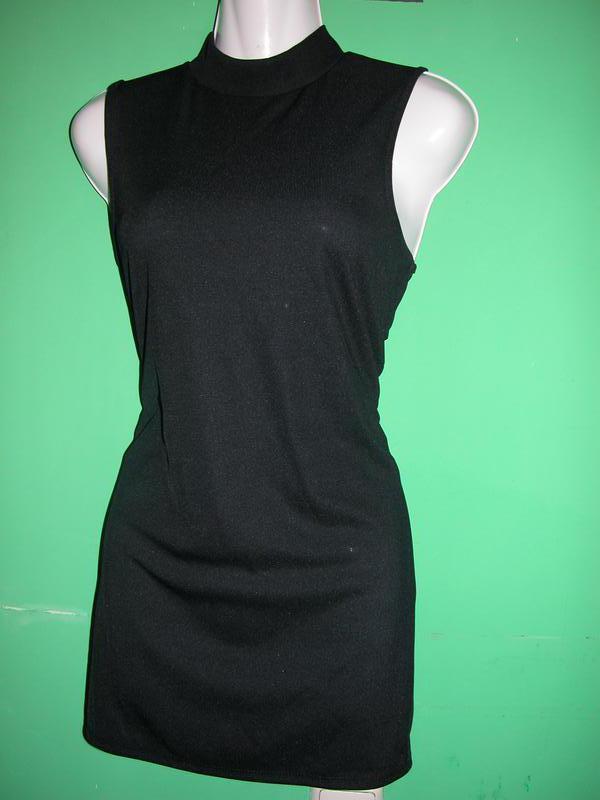 4f24407cc22 Распродажа! маленькое черное платье туника в рубчик1 фото ...