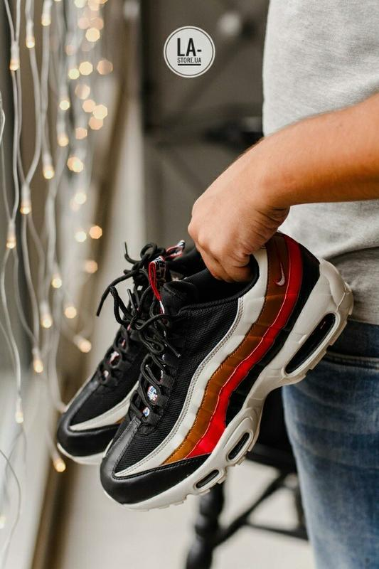 c34b04ba Новинка! шикарные мужские кроссовки nike air max 95 multicolor1 фото ...