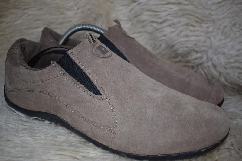 70d603656 Замшевые туфли мокасины лоферы mountain warehouse англия р.43 28,51 фото ...