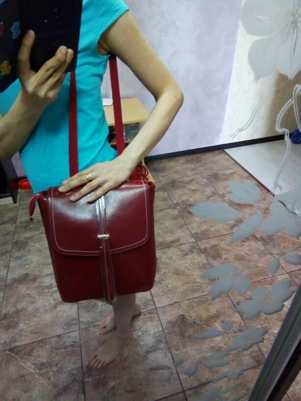 146fd5370552 Рюкзак сумка трансформер женский из экокожи с пряжкой, цена - 949 ...