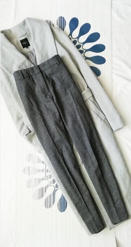 3bdd1aed7998 Серые шерстяные брюки peserico классические с стрелками 99% wool шерсть  сірі класичні за ...