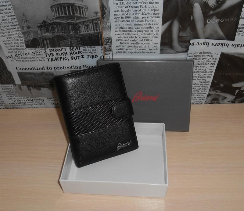 e80323710188 Мужской кошелек, обложка для документов brioni, кожа, италия (Brioni) за  1990 грн. | Шафа